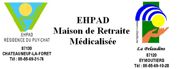 EHPAD RESIDENCE DU PUY CHAT