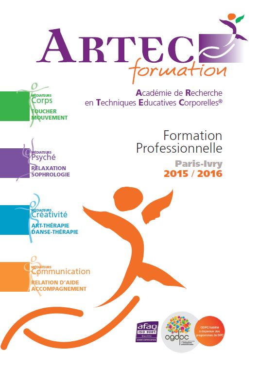 CATALOGUE ARTEC FORMATION 2016